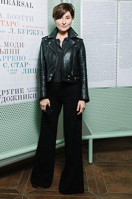 Малахов, Долецкая и другие на открытии выставки «Генеральная репетиция»