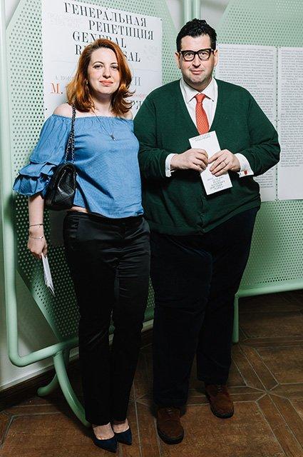 Малахов, Долецкая и другие на открытии выставки «Генеральная репетиция» - Фото №6