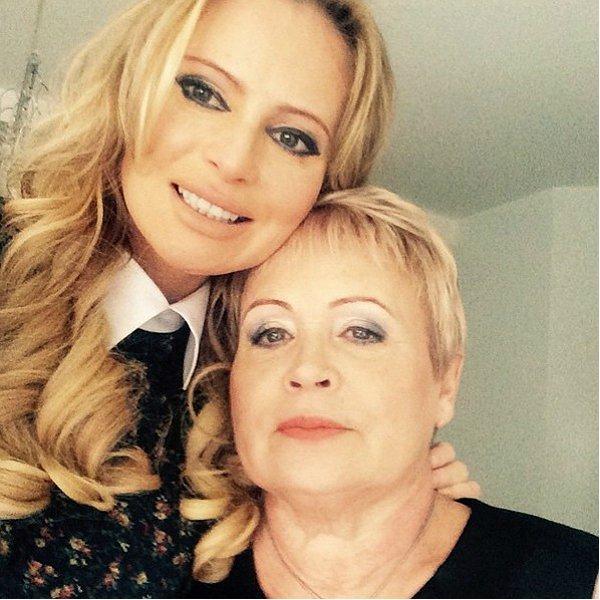 Дане Борисовой удалось помириться с матерью