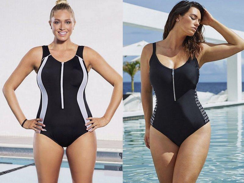 Лучшие купальники для девушек с формами