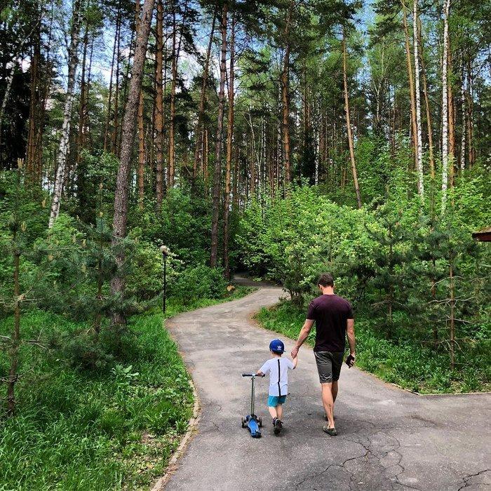 Сергей Лазарев похвастался самостоятельным сыном
