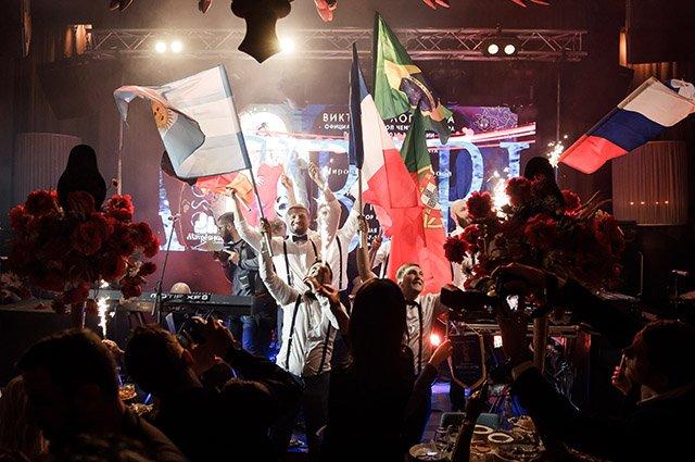 Егор Крид, Тимати и другие на вечеринке честь открытия ЧМ по футболу