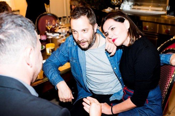 Ксения Собчак собрала друзей на закрытом ужине - Фото №9