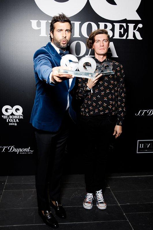 Звёзды на премии GQ «Человек года»