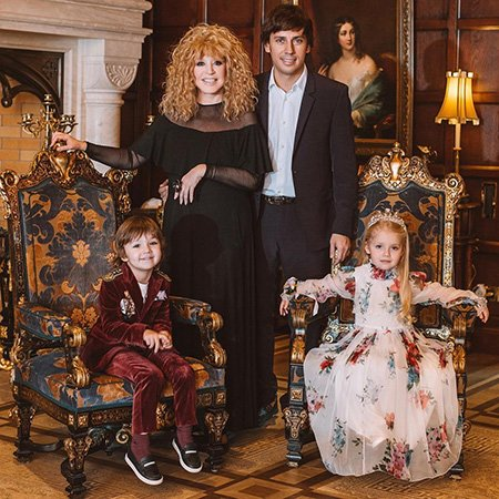 Лиза и Гарри Галкины отпраздновали пятилетний юбилей