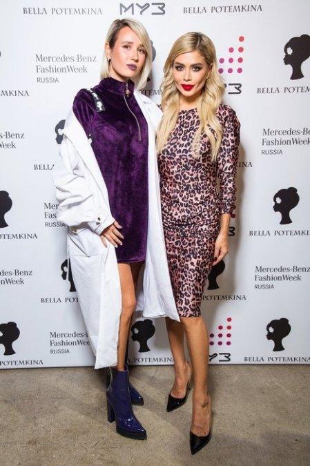 Белла Потёмкина собрала знаменитых подруг на модном показе - Фото №4