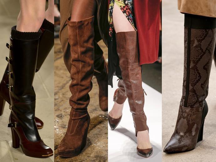 Самая модная обувь для осени