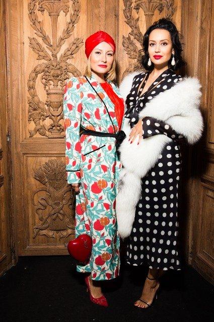 Соня и Инга Меладзе, Наталья Подольская и другие на модном показе Humariff - Фото №8