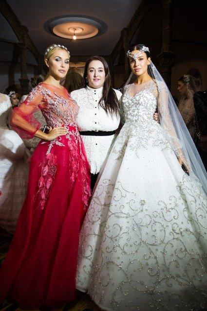 Соня и Инга Меладзе, Наталья Подольская и другие на модном показе Humariff - Фото №3