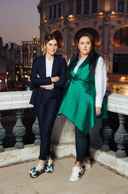 Соня и Инга Меладзе, Наталья Подольская и другие на модном показе Humariff - Фото №7