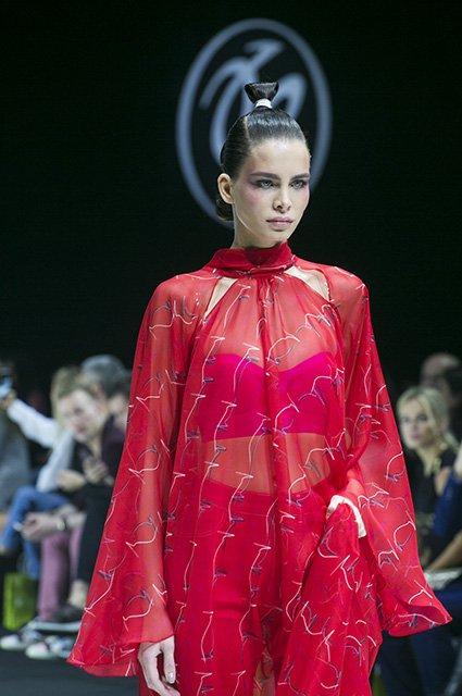 Звёзды на показе новой коллекции Валентина Юдашкина - Фото №11