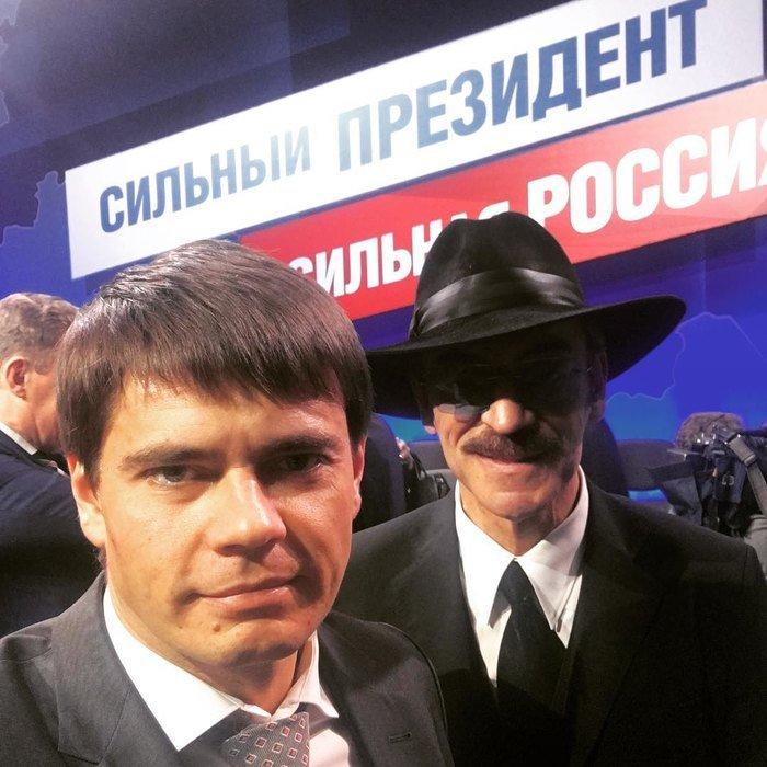 Сын Михаила Боярского показал отца без шляпы