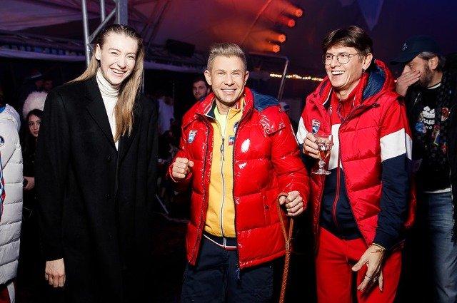 Андрей Малахов, Татьяна Навка и другие на показе Bosco - Фото №2