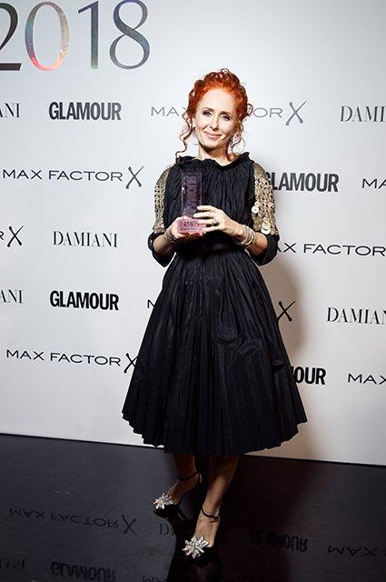Знаменитости на премии «Женщина года» - Фото №14