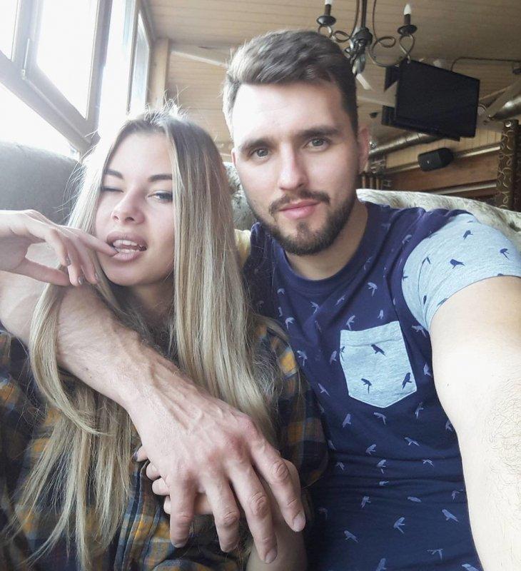Лена Хромина показала мужа