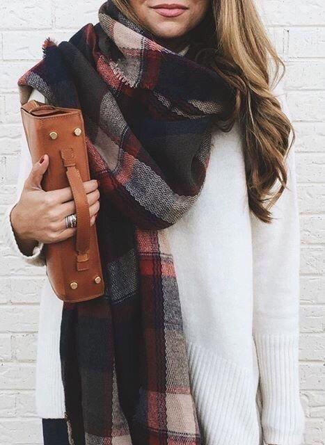 Как завязывать шарф - простые и модные способы одновременно