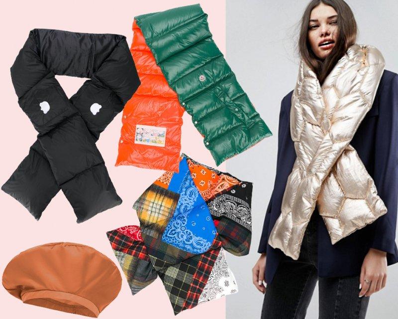 Стильные шарфы для холодной зимы
